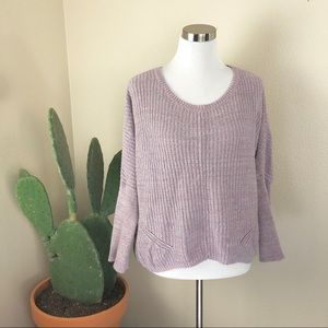 •MOTH• Anthro Lavender Viedma Pullover Sweater